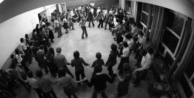 Kassák Club, Dance House of Sebő Ensemble, Budapest, 1976